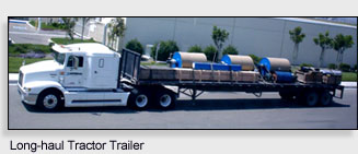 Long Haul Tractor Trailer